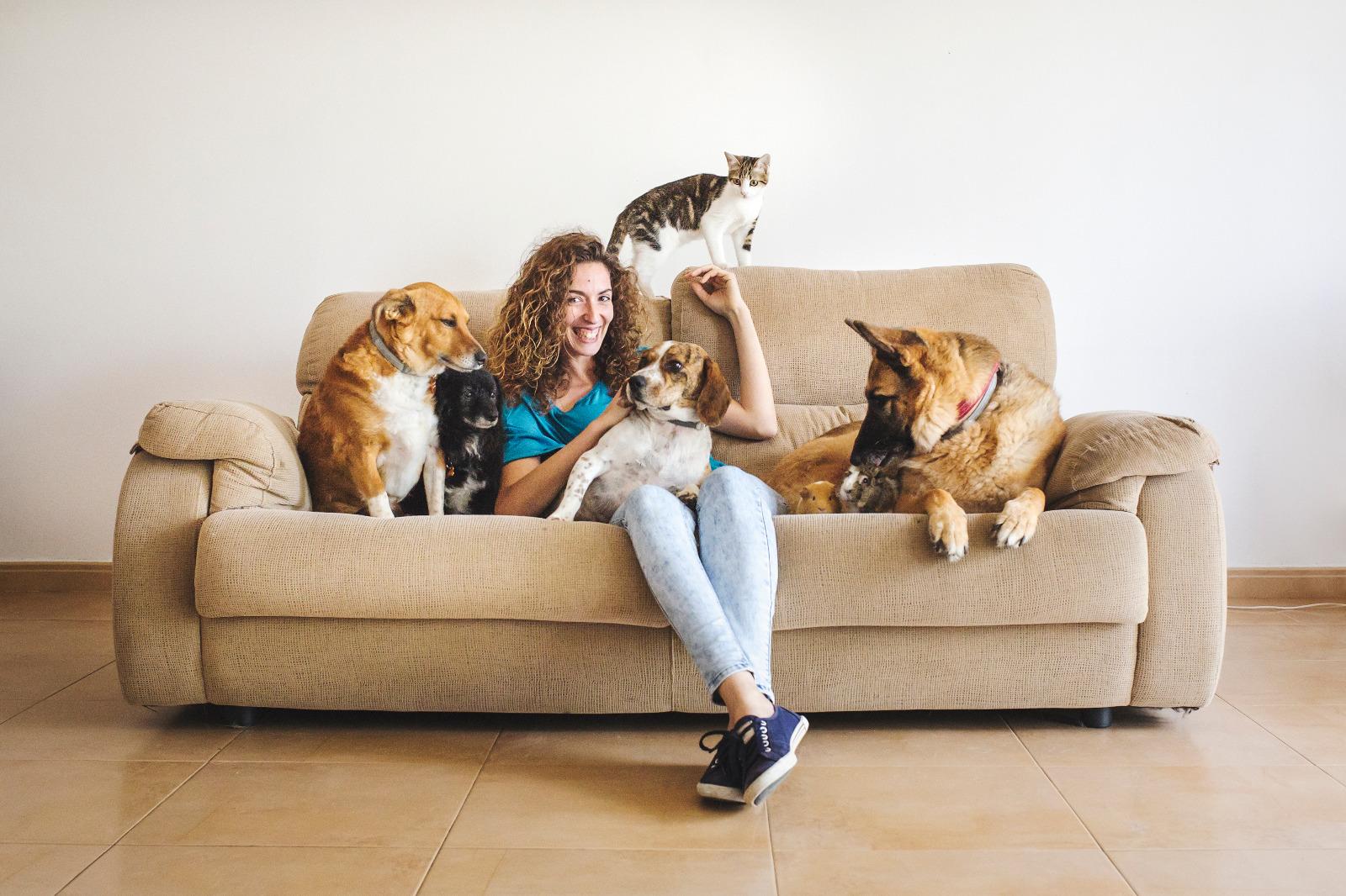 Sonia España, VeggieAnimals, ¡y animales! :-D